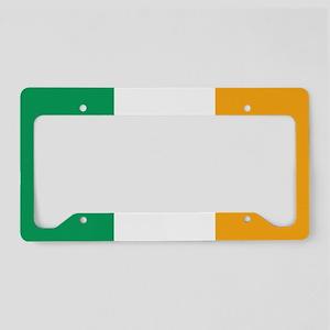 Irish Tricolour Square - flag of Ireland License P