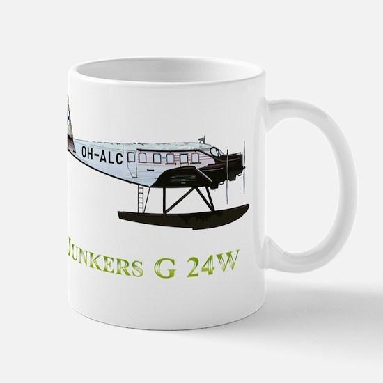 Junkers G 24W 2 w text Mug