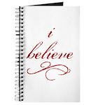 I Believe (fancy) Journal