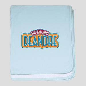 The Amazing Deandre baby blanket