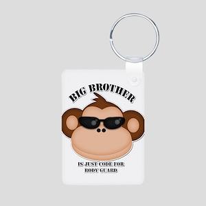 big brother body guard monkey Keychains