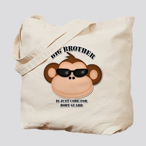 big brother body guard monkey Tote Bag
