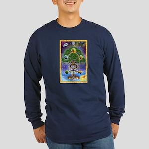 Yggdrasil Long Sleeve Dark T-Shirt