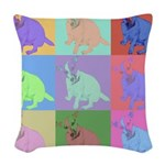 Warhol Style Jack Russell Design on Woven Throw Pi