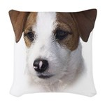 Parson Jack Russell Woven Throw Pillow