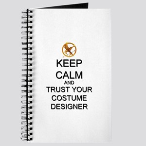 Keep Calm Costume Designer Hunger Games Journal