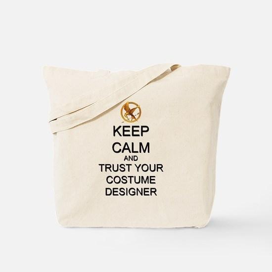 Keep Calm Costume Designer Hunger Games Tote Bag
