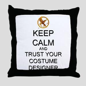 Keep Calm Costume Designer Hunger Games Throw Pill