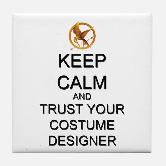 Keep Calm Costume Designer Hunger Games Tile Coast