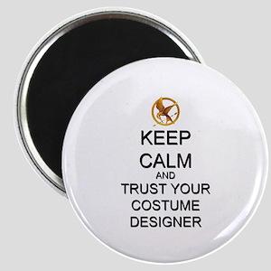 Keep Calm Costume Designer Hunger Games Magnet