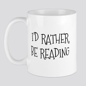 Rather Be Reading Playful Mug