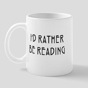 Rather Be Reading Nouveau Mug