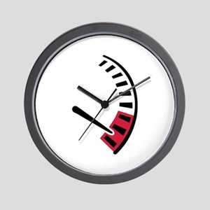 Speedometer car racing Wall Clock