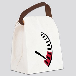 Speedometer car racing Canvas Lunch Bag