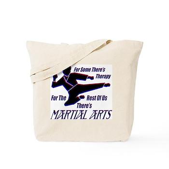 Martial Arts Therapy Tote Bag