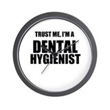 Dental hygenist Wall Clocks