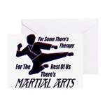 Martial Arts Therapy Greeting Cards (Pk of 10)