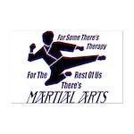 Martial Arts Therapy Mini Poster Print