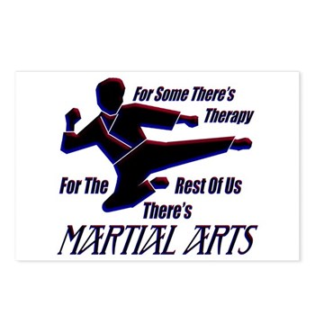 Martial Arts Therapy Postcards (Package of 8)