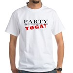 Toga Party White T-Shirt