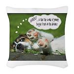 Hark Woven Throw Pillow
