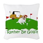 JRT The Pro Golfer Woven Throw Pillow