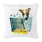 jackuzzi Woven Throw Pillow