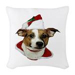 JRT Christmas Santa Woven Throw Pillow