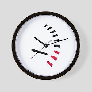 Speed car racing Wall Clock