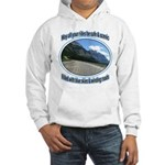 Blue skies winding roads Hoodie Sweatshirt
