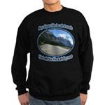Blue skies winding roads Sweatshirt