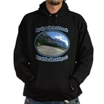 Blue skies winding roads Hoodie
