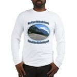 Blue skies winding roads Long Sleeve T-Shirt