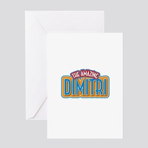 The Amazing Dimitri Greeting Card