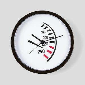 Speed car Wall Clock