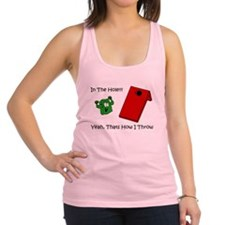 in the hole Racerback Tank Top