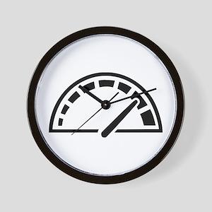 Speed car speedometer Wall Clock