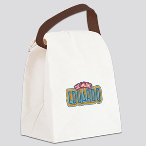 The Amazing Eduardo Canvas Lunch Bag