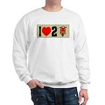 I Heart 2 Scoot Sweatshirt