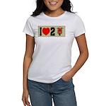 I Heart 2 Scoot Women's T-Shirt