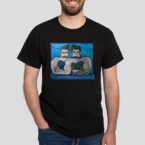 Bosom Buddies Black T-Shirt