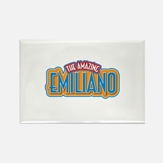 The Amazing Emiliano Rectangle Magnet