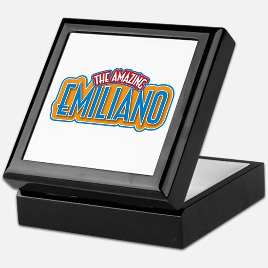 The Amazing Emiliano Keepsake Box