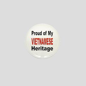 Proud Vietnamese Heritage Mini Button