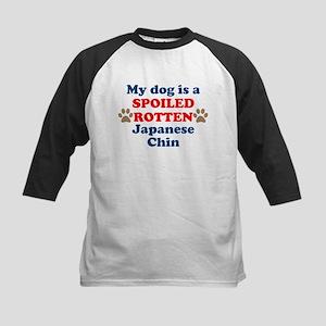 Spoiled Rotten Japanese Chin Baseball Jersey