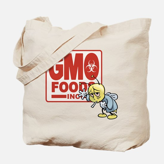 GMO Foods -Bee Tote Bag