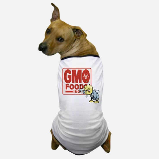 GMO Foods -Bee Dog T-Shirt