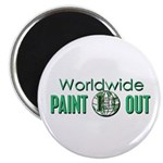 """IPAP WORLDWIDE Paint Out 2.25"""" Magnet (10 pack)"""