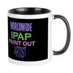 Ipap Worldwide Paint Out 11 Oz Ceramic Mug Mugs