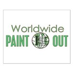 IPAP WORLDWIDE Paint Out Small Poster